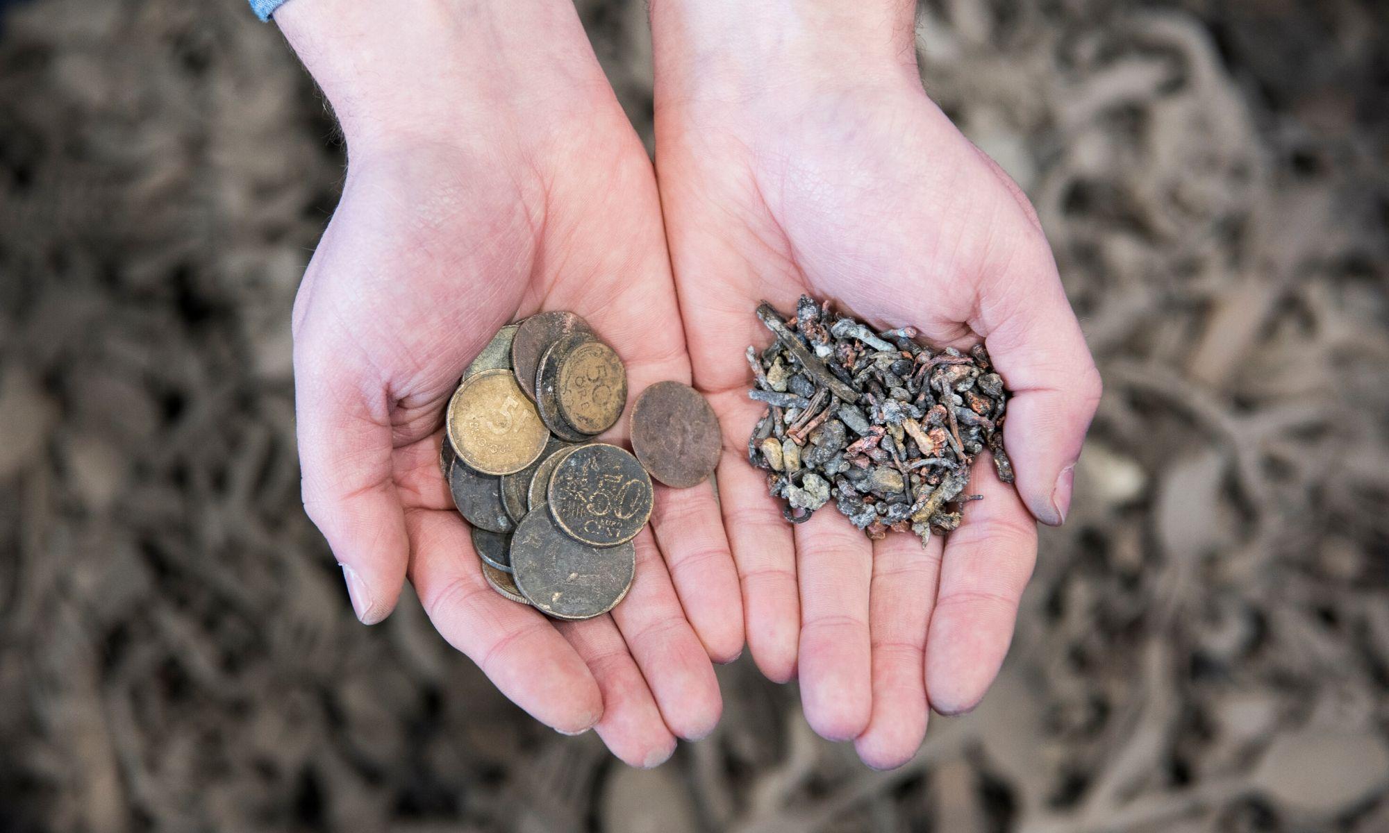 Afzet teruggewonnen metalen als hoogwaardige grondstof naar smelters